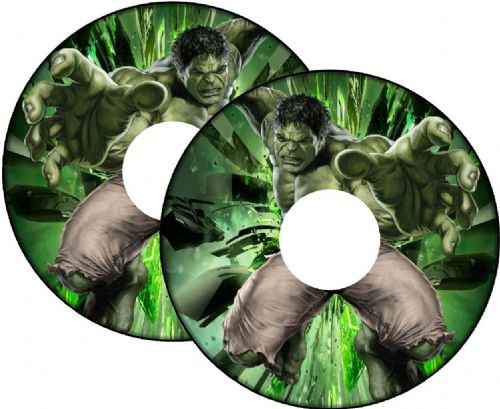 HULK Wheelchair Spoke Guard Sticker Skins
